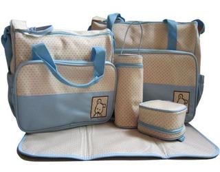 Nuevo Paquete De Bebé Pañales Cambio Bolso Set Pañales Bolsa