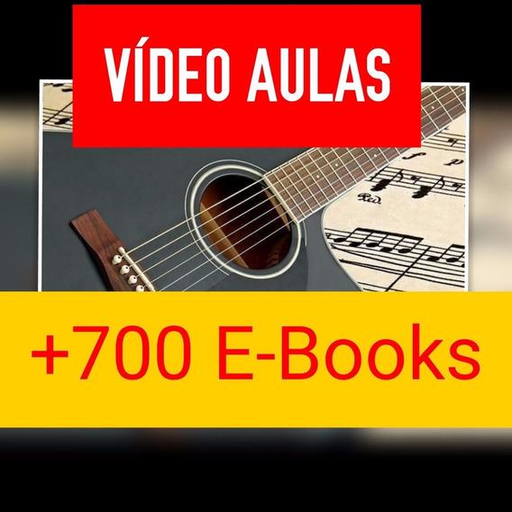 Curso Completo Violão, Vídeo Aulas 1 Dvd Casais