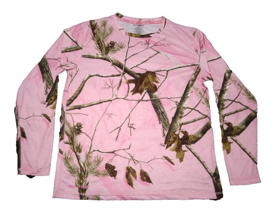 Remera Camuflada Real Tree Talle L