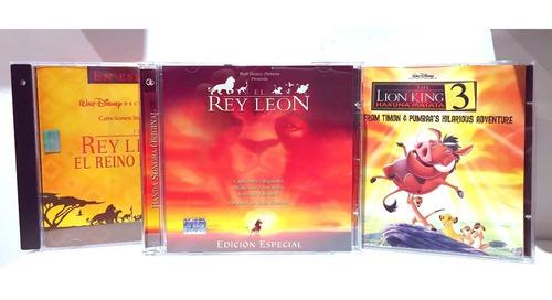 Imagen 1 de 4 de Disney El Rey León Cd Trilogía Nuevo Original