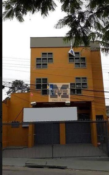 Salão Para Alugar, 170 M² Por R$ 2.500/mês - Jardim Bom Clima - Guarulhos/sp - Sl0048