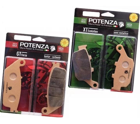 Kit Pastilhas Freio Potenza Cb 500f Com Abs 140 226 Carbono