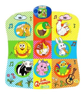 Alfombra Musical La Granja De Zenon Zippy Toys 9789