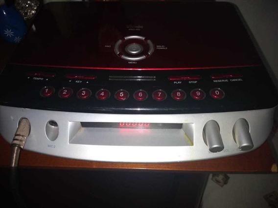 Aparelho Videoke Raf Pro 500+200musicas