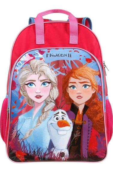 Mochila Escolar Infantil Dermiwil Frozen Ii Grande - 37389