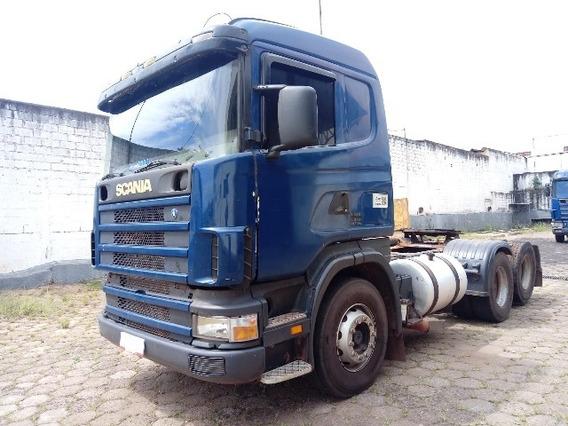 Scania R 124 420 6x2 Ano 2005/2005 Caminhão Todo Revisado