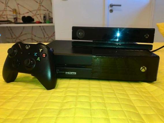 Xbox One E Kinect + 4 JogosLeia A Descrição