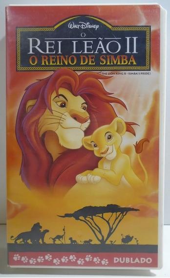 Fita Vhs O Rei Leão 2 O Reino De Simba The Lion King