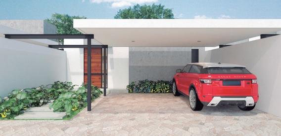 Casa Nueva En Venta, Privada Campo Cielo, Modelo One Floor 2 Rec, Dzitya, Mérida