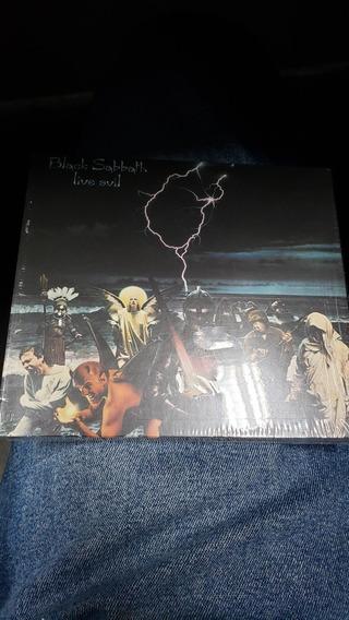 Black Sabbath Live Evil Cd Duplo Importado Deluxe
