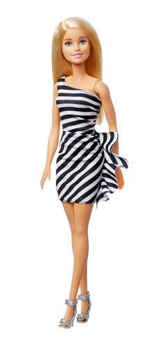 Barbie Fashionista Muñeca Rubia 60 Años Mattel Gjf85