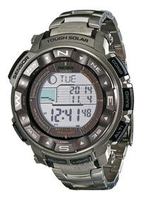 Relógio Casio Protrek Titanium Solar Prw2500t-7 Tábua Mares