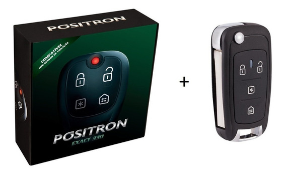 Alarme Exact + Chave Canivete Px80 Positron