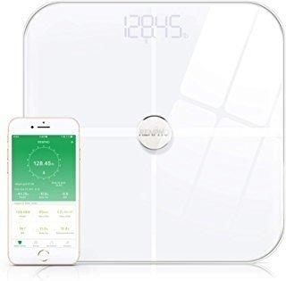 Renpho Smart Heart Rate Body Fat Scale Bluetooth Digital Bat