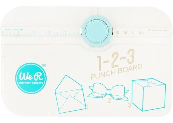 Creador De Cajas, Sobres Y Moños. 1-2-3 Punch Board