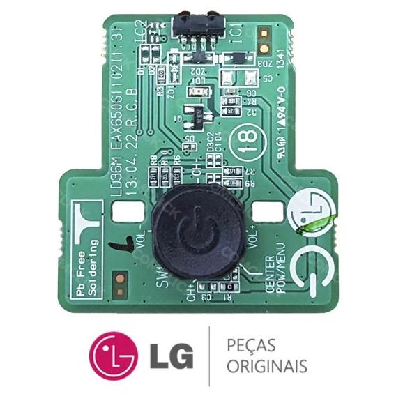 Tecla De Funções Da Tv Lg 42ln5460 Código Eax65061102(1.3)