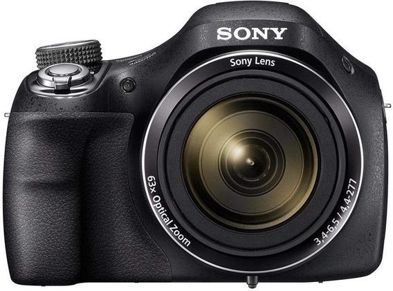 Câmera Sony Dsc-h400 20.1mp + Cabo Usb