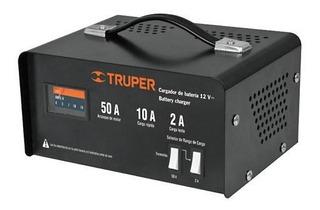 Cargador Baterias 12 V 50 A Portatil Truper 13027