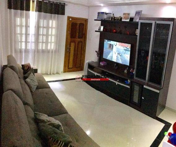 Sobrado Com 3 Dormitórios À Venda, 110 M² Por R$ 585.000,00 - Veleiros - São Paulo/sp - So2870