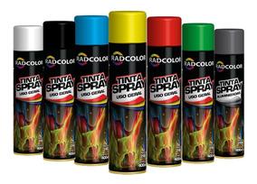 Tinta Spray Todas As Cores Cx 13un Uso Geral E Auto Promoção