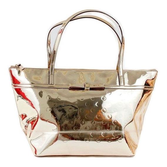 Bolsa Kate Spade Original Sophie Camellia Street Bag - Gold