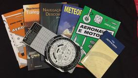 Kit Livros Piloto Privado (pp) + Computador De Voo