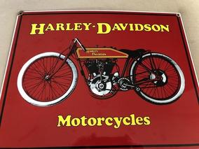 Placa Decorativa Harley-davidson Motorcycles Ande Rooney