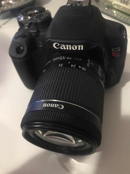 Câmera Digital Canon T5i Eos + Lente Canon 50 Mm