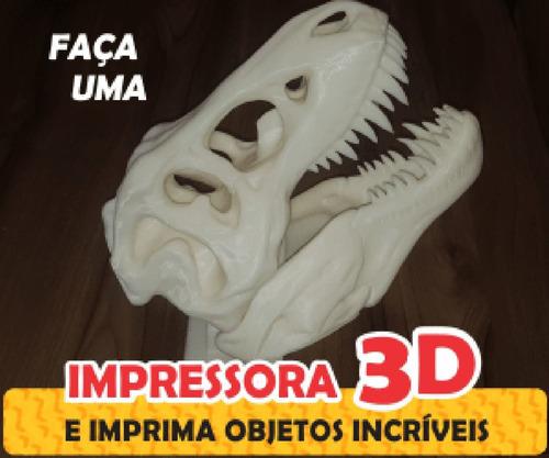 Faça Sua Própria Impressora 3d    Curso Inédito.