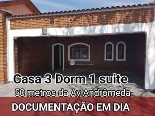 Casa No Jd Satélite Pé Na Andromeda - Ca1852