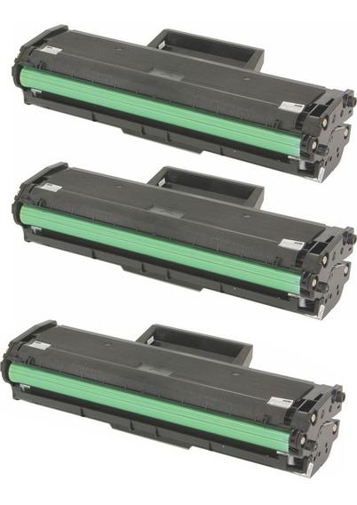 3 Toner D104s D104 Ml1660 Ml1665 Ml1860 Ml1865 Scx3200 Novo