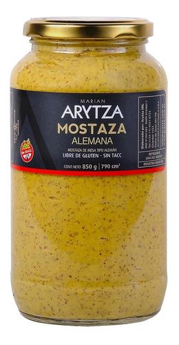 Mostaza Gourmet Arytza Tipo Alemana 850g. 100% Natural