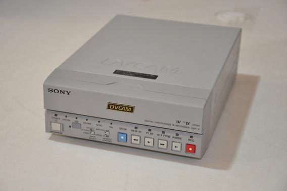 Gravador Sony Dvcam Modelo Dsr11 - Retira De Peças Ou Reparo