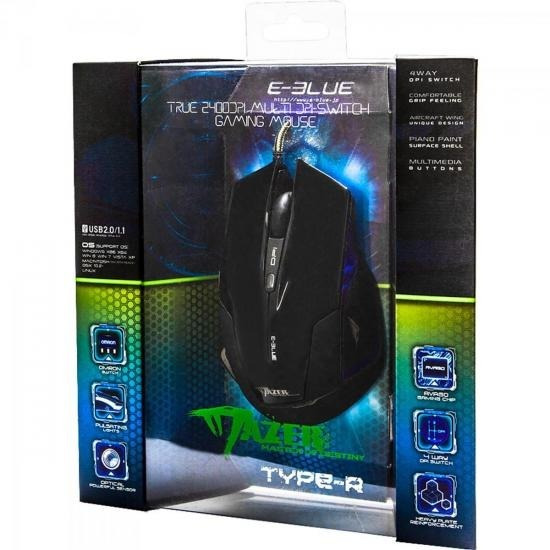Mouse Gamer E-blue Mazer Type-r 47986