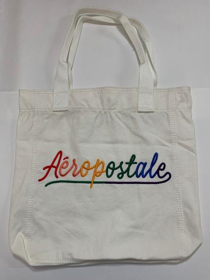 Bolsa Aeropostale Em Lona Original