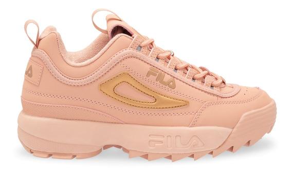 Zapatillas Fila Disruptor Ii Rose 5fm00785-650 Mujer 5fm0078