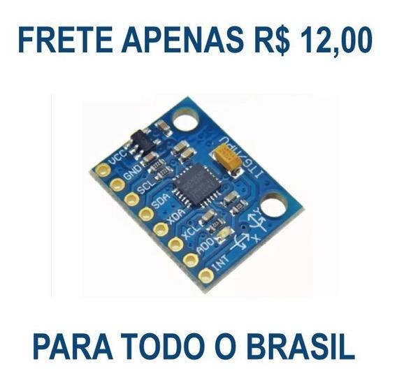 Acelerômetro E Giroscópio 3 Eixos Mpu-6050 Gy-521 Arduino