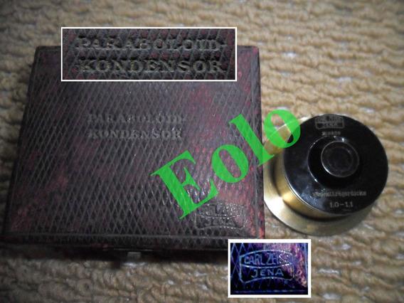 Microscópio - Condensador De Campo Escuro *zeiss Jena #