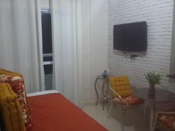 Apartamento 1 Quarto, Temporada No Caiçara Em Praia Grande