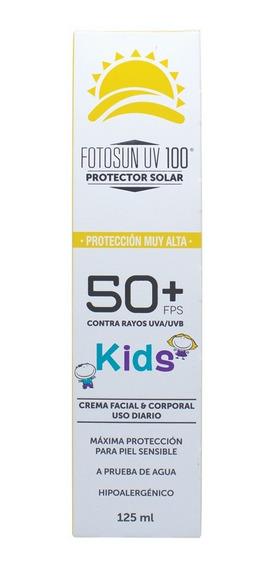 Protector Solar Fotosun Uv 100 Kids Fps 50+ 125ml 5 Pack