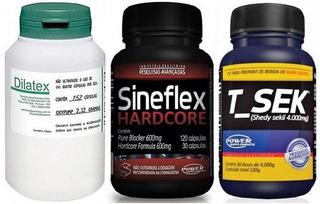 Combo Sineflex Hardcore + T-sek + Dilatex