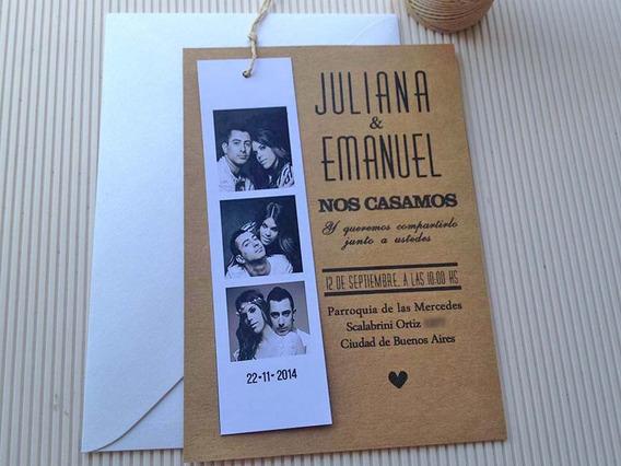 Invitaciones Tarjetas Casamiento - 15 Años X10