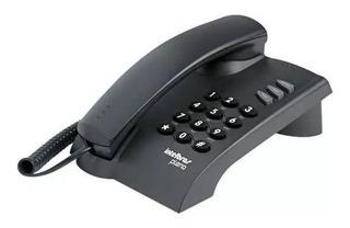 Telefone Pleno Grafite/preto S/chave C/fio - Intelbras
