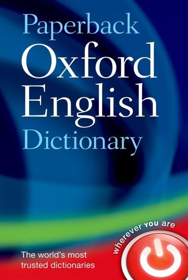 Livro Oxford Dictionary Of English