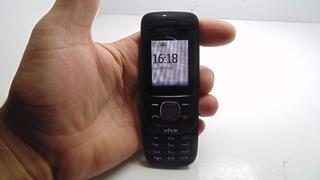 Celular Nokia Antigo 2220s-b Operadora Vivo S/ Carregador
