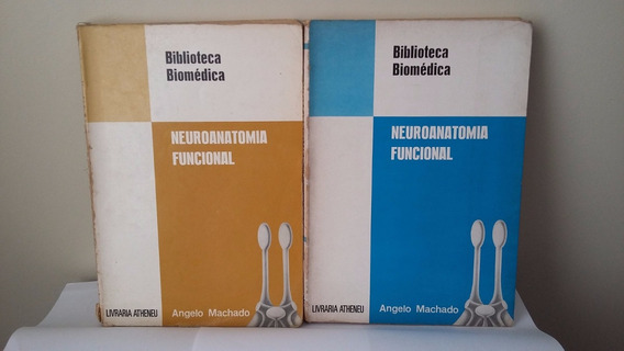 Kit Com 2 Livros Neuroanatomia Funcional - Angelo Machado