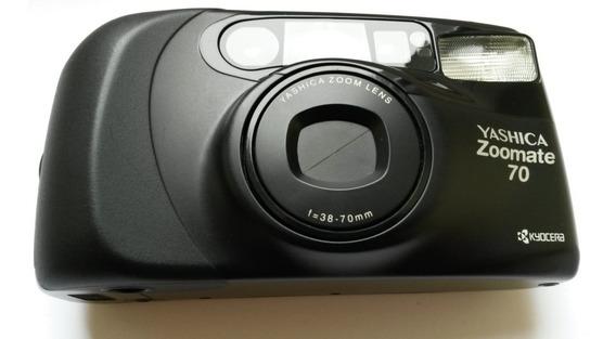 Câmera ( Revisada ) Fotográfica Analógica Yashica Zoommate