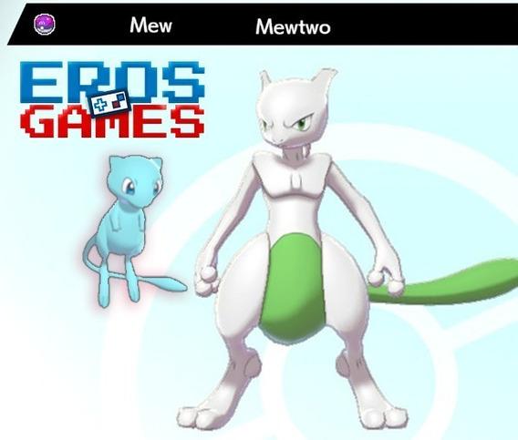 Mew, Mewtwo E Ditto - 6iv, Shiny, Master Ball Sword Shield