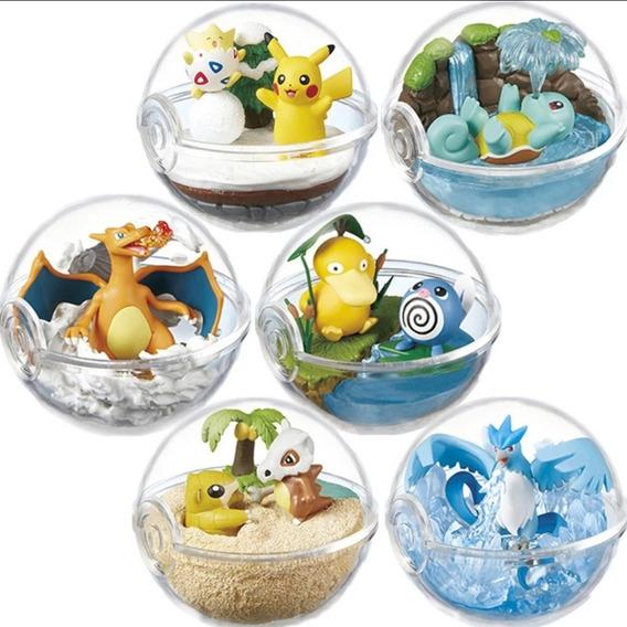 Colección 6 Figuras De Pokemon Alta Calidad Pikachu Charizar