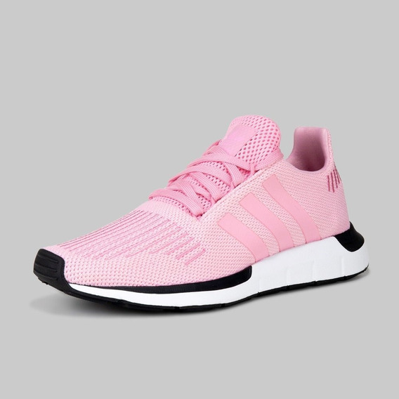 Tenis adidas Swift Run Rosa C/ Negro